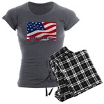 Born in the USA Women's Charcoal Pajamas