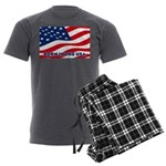 Born in the USA Men's Charcoal Pajamas