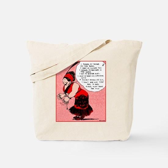 Burlesque Queen Tote Bag