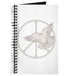 Peace Sign & Dove Journal