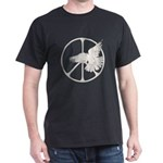 Peace Sign & Dove Dark T-Shirt