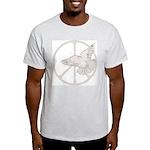 Peace Sign & Dove Light T-Shirt
