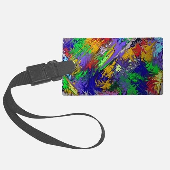 Brighten my color day Luggage Tag