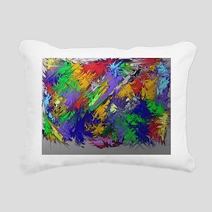 Brighten my color day Rectangular Canvas Pillow