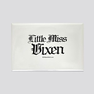 Little Miss Vixen - Rectangle Magnet