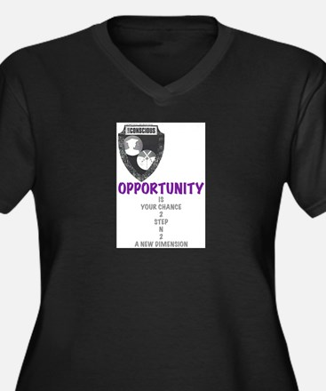 Opportunity Is Your Chance 2 Plus Size T-Shirt