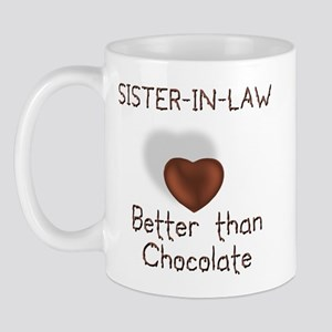 Sister-in-law Better Than C Mug