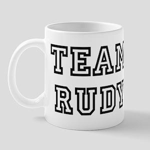 Team Rudy Mug