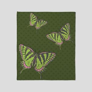 Celtic Swallowtail Throw Blanket