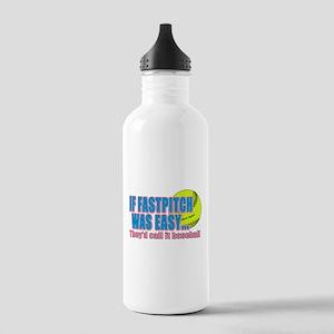 Girls Softball Stainless Water Bottle 1.0L