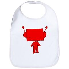 red robobud Bib