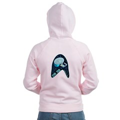 StarTrek Badge Zip Hoodie