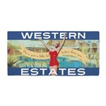 Western Estates Beach Towel