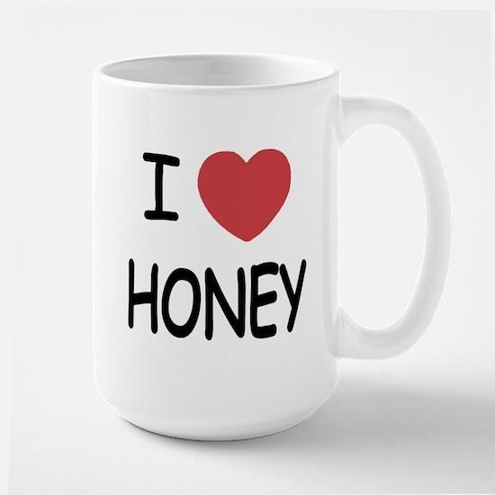 I heart honey Large Mug
