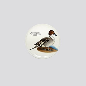 Northern Pintail Duck Mini Button
