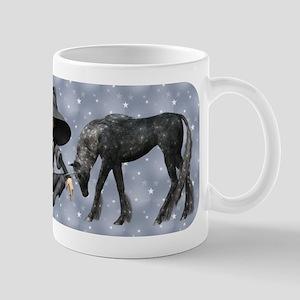 Black Unicorn Mug