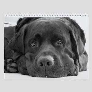 """Labrador Retriever Wall Calendar """"B"""""""