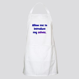 Introduce My Selves Apron
