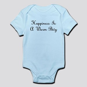 Happiness Is a Warm Bivy Infant Bodysuit