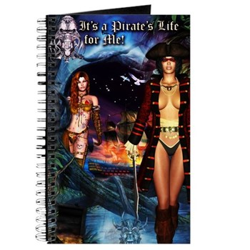 It's a Pirates's Life for Me Journal