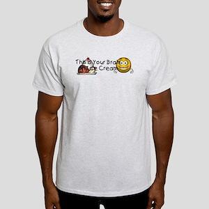 Ice Cream Brain Light T-Shirt