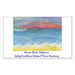 Stinson Beach, California Sticker (Rectangle 10 pk