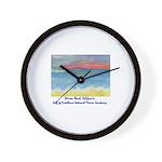 Stinson Beach, California Wall Clock