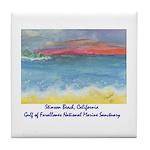 Stinson Beach, California Tile Coaster