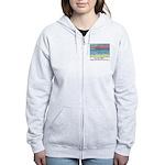 Stinson Beach, California Women's Zip Hoodie