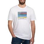 Stinson Beach, California Fitted T-Shirt