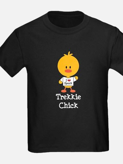 I Heart Spock Trekkie Chick T