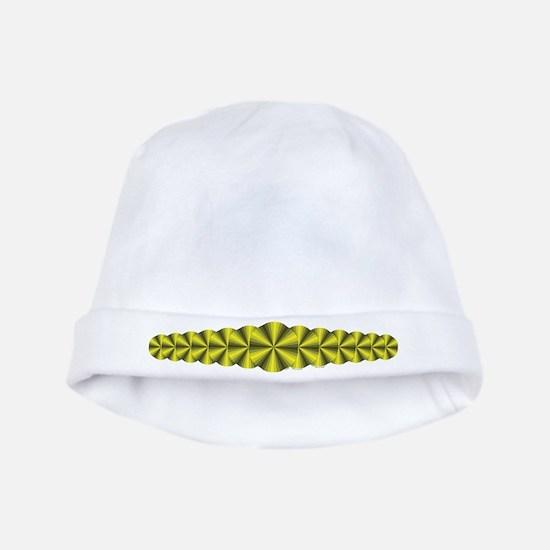 Yellow Illusion Baby Hat