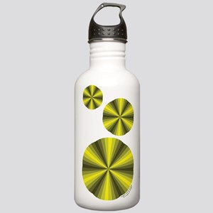 Yellow Illusion Stainless Water Bottle 1.0L