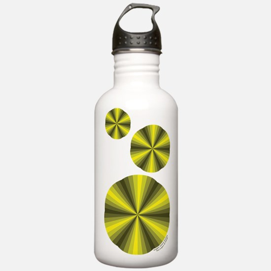 Yellow Illusion Water Bottle