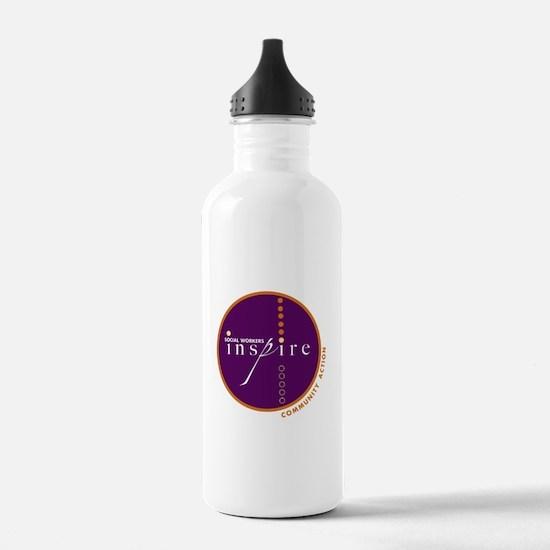 Social Workers Inspire Water Bottle