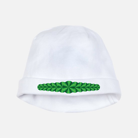 Green Illusion Baby Hat