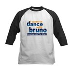 Dance with Bruno Kids Baseball Jersey
