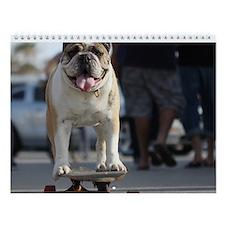 """Bulldog Wall Calendar """"E"""""""