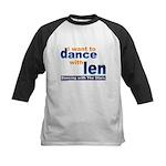 Dance with Len Kids Baseball Jersey