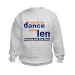 Dance with Len Kids Sweatshirt