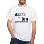 Dance with Len White T-Shirt