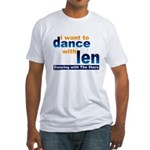 Dance with Len Fitted T-Shirt