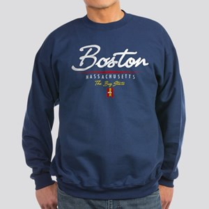 Boston Script Sweatshirt (dark)