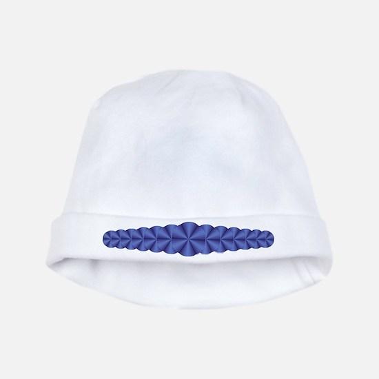 Blue Illusion Baby Hat
