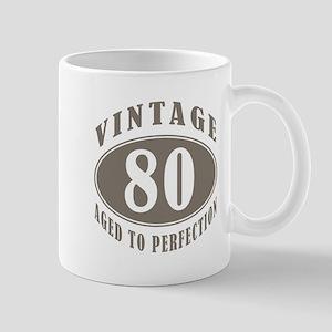 90th Vintage Brown Mug