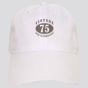 75th Vintage Brown Cap
