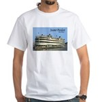 Steamboat President White T-shirt