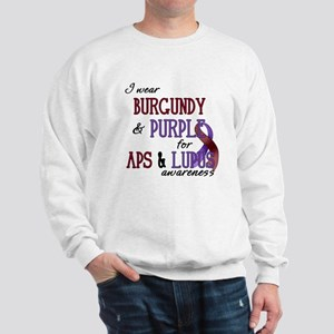 For APS & Lupus Awareness Sweatshirt