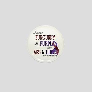 For APS & Lupus Awareness Mini Button