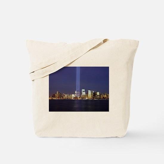 9 11 Tribute of Light Tote Bag